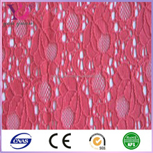 popular white embroidery wedding lace fabric