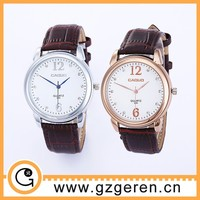 Promotional waterproof and mix colors cheap vintage leather watch D00211z