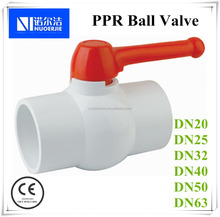 DN32 PPR Ball Valve For Water Piping Systems