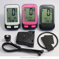 ANT+ signal auto-stop,Power saver circuitry with auto-wake sleep mode bike odometer BKV-3600