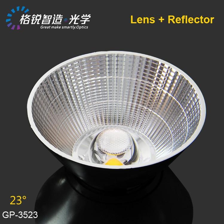 Pc Material Cob Reflector For Spotlight Gp-3523 35mm 23 ...