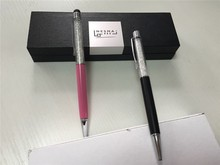 high quality metal twin pen set with ur logo printed can be business gifts set