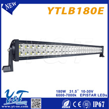 Y&T180w used cars auction in japan bicycle led light bar for quad bike truck 4x4 led offroad light bar suppliers