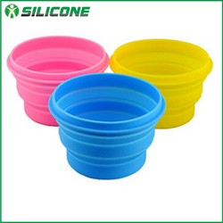 New products for pet silicone dog bowl pet bowl collapsible dog water bowl