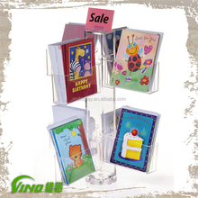Countertop Greeting Card Displays with Pockets