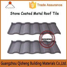 2015 New Style Modern home plans Anti Storm Galvanized Stone coated metal Roman roof tile