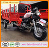 Chongqing Gold Suppiler Motorized Driving Type Three Wheel Motorcycle/Motor Tricycle For Cargo
