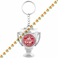 keychain with can keychain with letters with wedding souvenirs towel