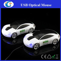 Cheap Laptop Accessories 3D Optical Car Shaped Computer Mouse
