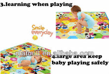 2014 Fashion Hot baby travel changing mat/kids play rug for babies
