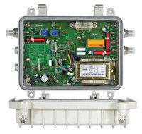 over-current protection Waterproof outdoor one directional unilateralism Amplifier with AC60V power supply