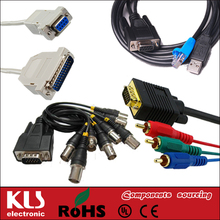 Good quality dvi to db9 cable UL CE ROHS 148 KLS