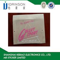 wholesale customized walmart electrostatic window led transparent sticker pet sticker