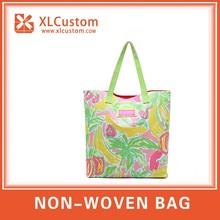 2015 new Cheap Reusable Folding Shopping Bag Customized