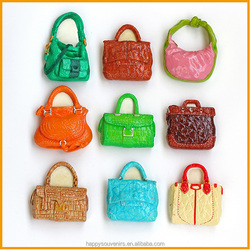 Custom new handbag decorative refrigerator magnet