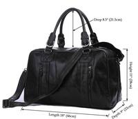 hot selling 2015 new man duffle bag travel bag genuine leather tote bag