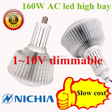160w led high bay light ac driverless 1-10v dimmable 5years warranty