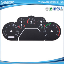 2D PC Digital Speedometer And Tachometer Gauge For Motorcycle