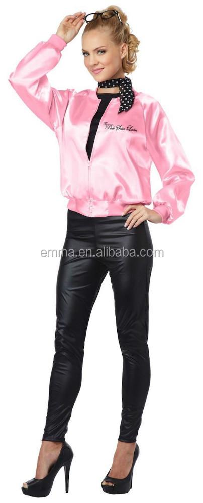 la rosa di raso signore signora grasso 50s 60s bwg3068 costume vestito le donne di fantasia