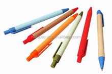 Recycle paper pen kraft paper ballpen