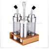 2015 new products 4pcs Stainless Steel salt pepper oil and vinegar set