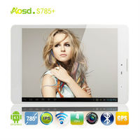 2013 hot selling children kids tablet pc 7.85inch Mini pad MTK8389 quad core +IPS screen+3G+wifi+Bluetooth+GPS
