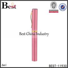 pen type 5ml 6ml 7ml 8ml 10ml aluminum perfume bottle wedding favor free samples