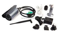 ACC voice & H.264 Video Compression Format VGA Security IP bullet camera system 326