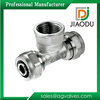best sale low price forged npt customized nickel color brass metric plumbing fittings