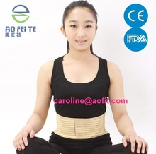 medical supplies thermal pain relief abdominal full size back waist brace lumbar support help to keep warm