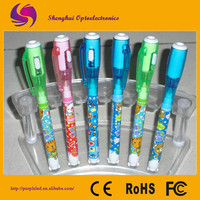 Wholsesale secret message pen invisible ink pen with UV light stationery