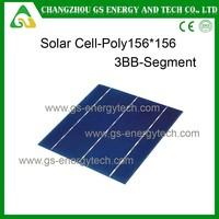 higher efficiency best price 17.6 eff 4.28w 6*6inch solar cell