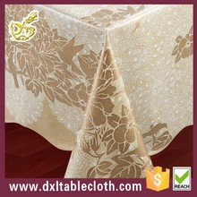 PVC tablecloth with flannel back tablecloth