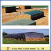 Custom waterproof/windproof round bale hay tarps cover