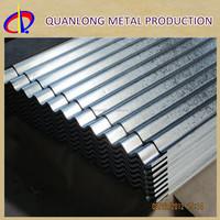 Zinc Coated Galvanised Steel Roofing Corrugated Long Span Tiles