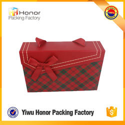 Wholesale cheap fancy paper packaging storage box for socks colorful underwear box cardboard storage box with pp handle