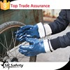 SRSAFETY industrial winter nitrile gloves with jersey liner/work glove