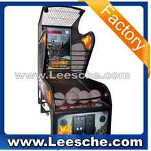 LSJQ-383 high quality coin operated basketball arcade game machine inflatable basketball game for sale