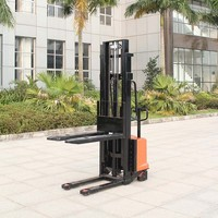 Factory direct supply 1.5T Semi Electric Stacker CTD16K with CE approved