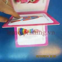 5 x 5 inch Square cardboard book for children