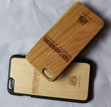 for iPhone wood case, bamboo wooden wood case for iPhone 6