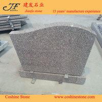 China cheap G635 red granite headstone