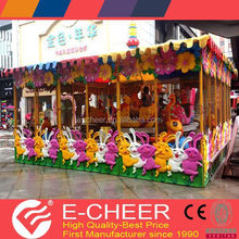 New design hot sale high quality cheap electric amusement rides joy spray cart
