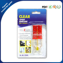 Clear High Quality Solvents & Chemicals Proof Syringe Epoxy AB Adhesive glue
