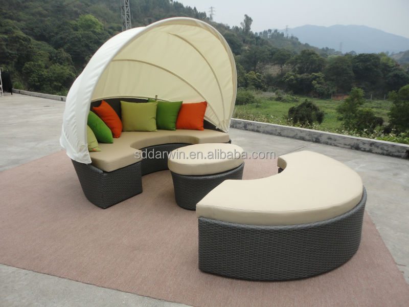 outdoor wicker daybed DW-B011