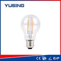 Manufactory 400lm E27 A60 clear LED edison bulb glass bulbs to water plants