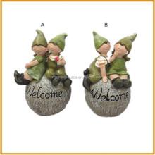 outdoor resin children garden figurines fairy wholesale