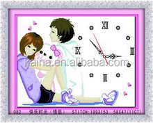 ROMANTIC LOVE BOY AND GIRL CROSS STITCH