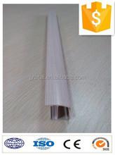 customized wooden transfer aluminium profile to make curtain rcustomized wooden transfer aluminium profile to make curtain rail