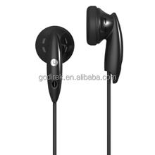 1 pair lightweight stereo earphones